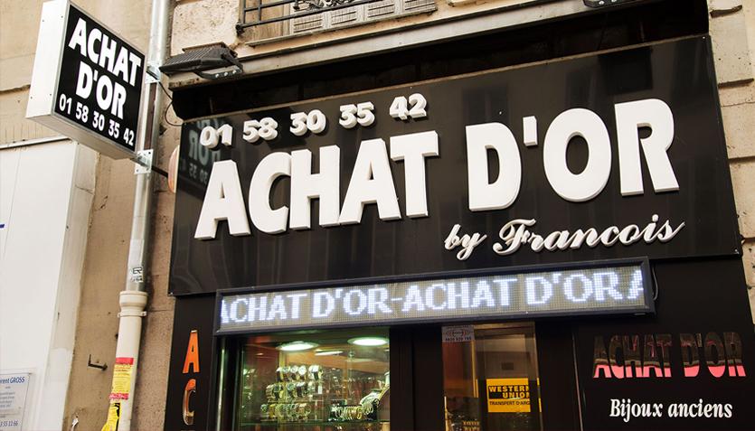 Liste de bijouterie a paris